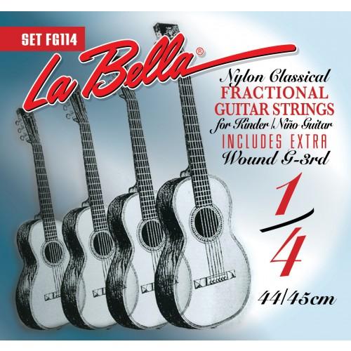 La Bella Classical Guitar Strings - Fractional Series