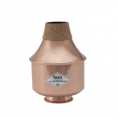 Faxx Trumpet Wah-Wah Mute - Copper