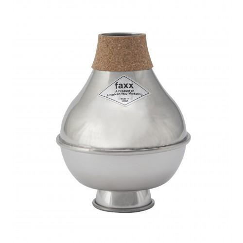 Faxx Trumpet Wah-Wah Mute Bubble - Aluminium