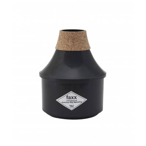 Faxx Trumpet Practice Mute - Black
