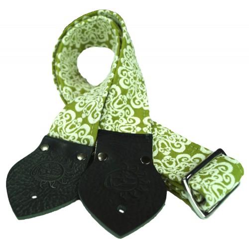 Dog Days Green Mandala 2-Inch Strap