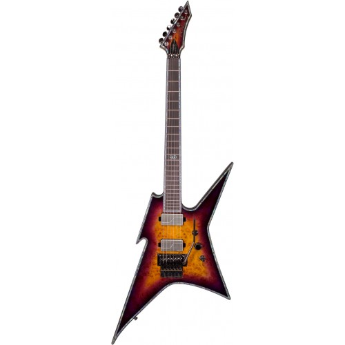B.C. Rich Ironbird Extreme Exotic with Floyd Rose - Purple Haze