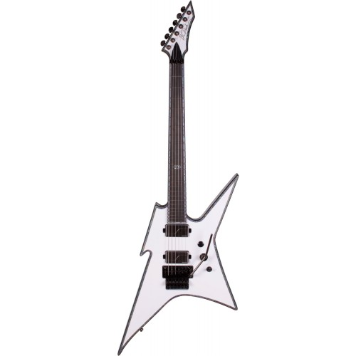 B.C. Rich Ironbird Extreme with Floyd Rose - Matte White
