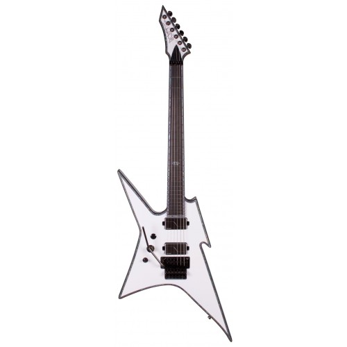 B.C. Rich Ironbird Extreme with Floyd Rose Left Hand - Matte White
