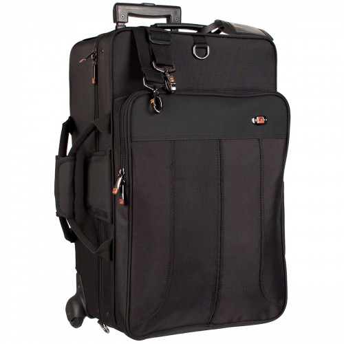 Protec Triple Horn IPAC Case with Wheels (IP301TWL)