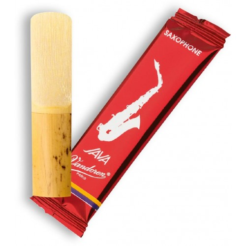 "Vandoren Java ""Filed - Red Cut"" Soprano Saxophone Reeds"