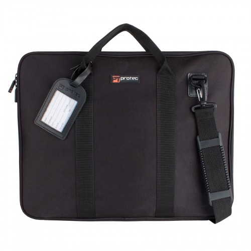 Protec Slim Portfolio Bag, Large - Black (P6)