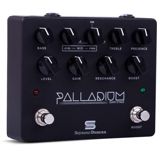 Seymour Duncan Palladium Gain Stage Pedal - Black