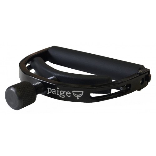 "Paige Original Electric Guitar Capo - Black, 2.062"" Wide"