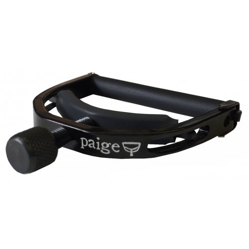 "Paige Original Banjo/Mandolin Capo - Black, Fits Past 4th Fret, 1.812"" Wide"