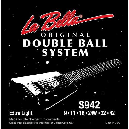 La Bella Electric Guitar Strings - Double Ball System