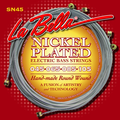 La Bella Bass Guitar Strings - Nickel Plated Round Wound