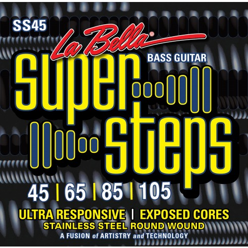 La Bella Bass Guitar Strings - Super Steps