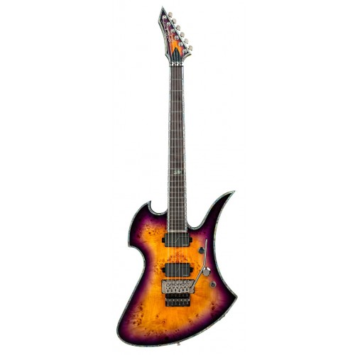 B.C. Rich Mockingbird Extreme Exotic with Floyd Rose - Purple Haze
