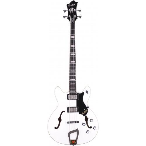 Hagstrom Viking Bass - White